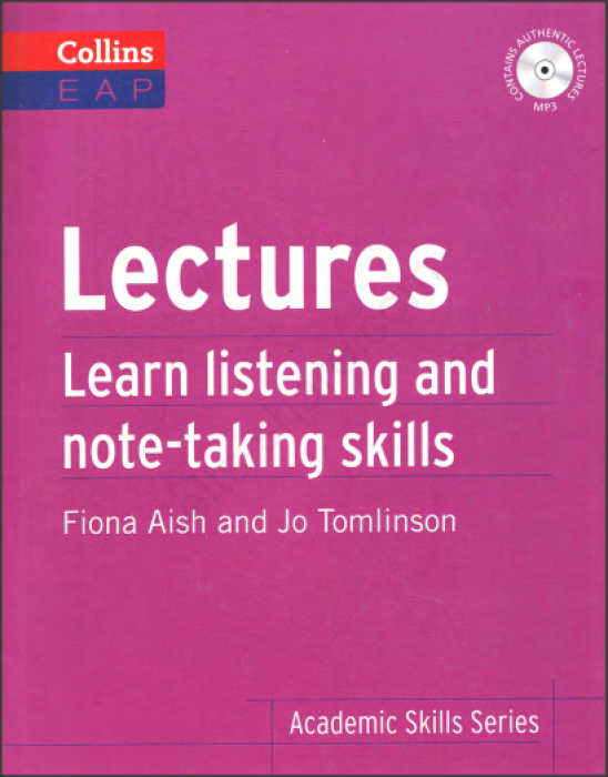 ACADEMIC SKILL - LECTURES LEARN LISTENING