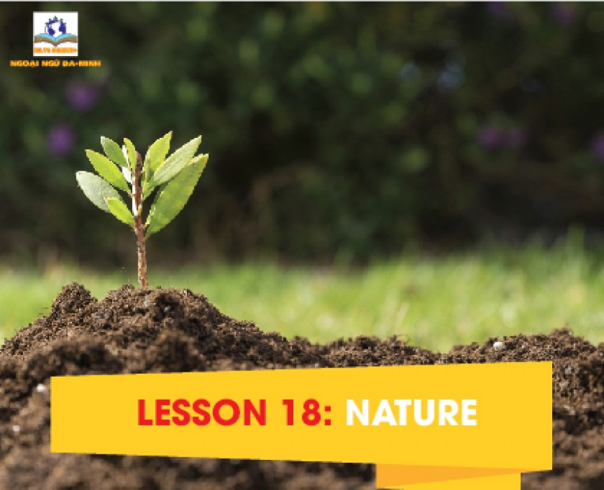 LESSON 18: NATURE